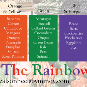 DWEH Eat the Rainbow graphic